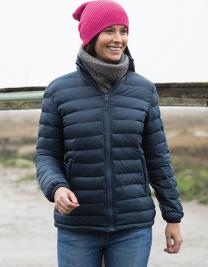 Ladies` Ice Bird Padded Jacket